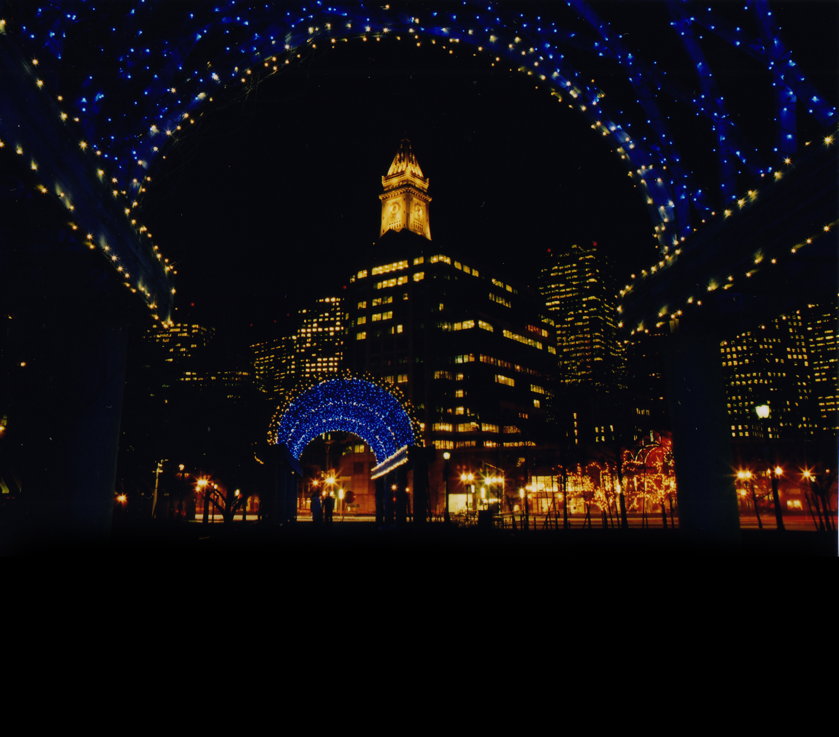 park will celebrate a boston holiday tradition with the twelfth annual lighting of signature trellises on november trellis