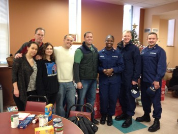 US Coast Guard Spreads Holiday Cheer with Adopt a Family Program