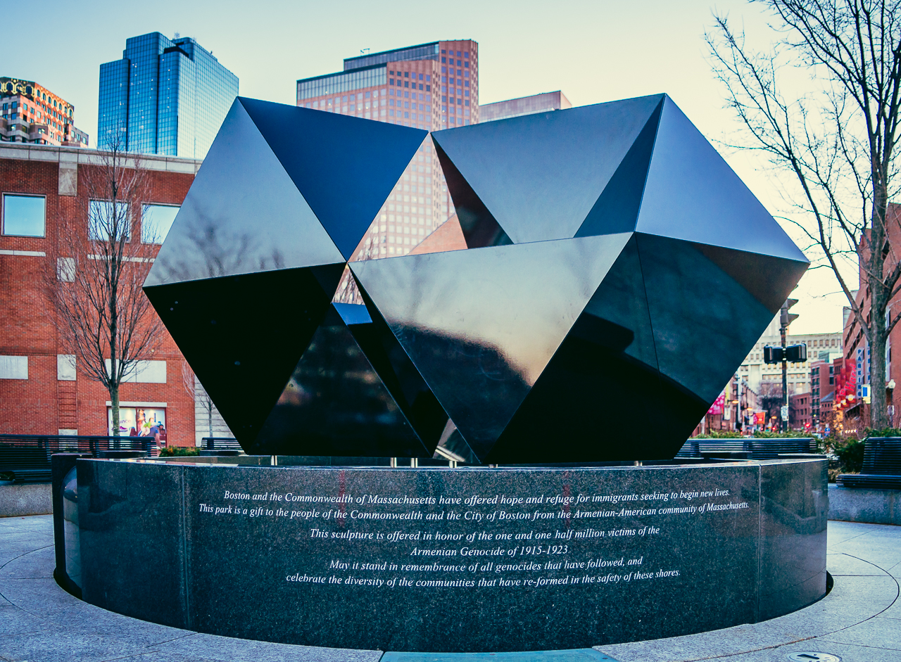 2015 Abstract Sculpture at Armenian Heritage Park on the Greenway (Photo by Matt Conti)
