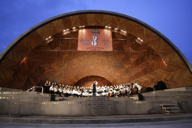 Boston Landmarks Orchestra Hatch Shell Concert