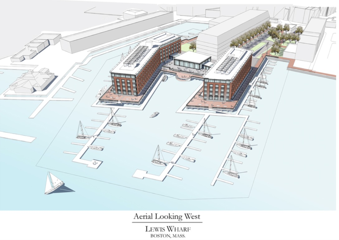 Lewis Wharf Developer Launches New Plan For Two Building