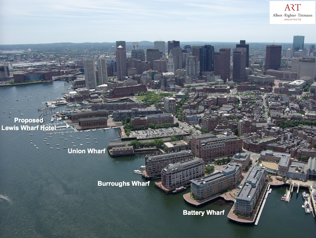 Lewis Wharf Proposal Update From Boston Redevelopment Authority