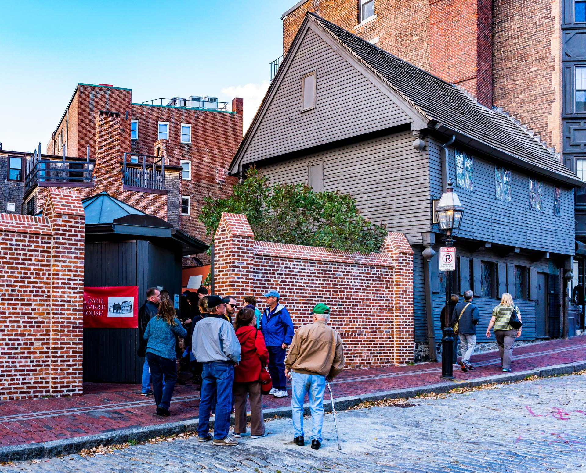 North Square entry to Paul Revere House