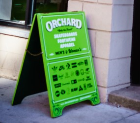 Orchard Sandwich Board Sign