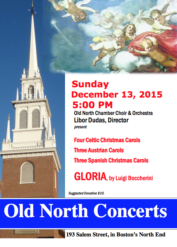 Christmas concert.2015.poster