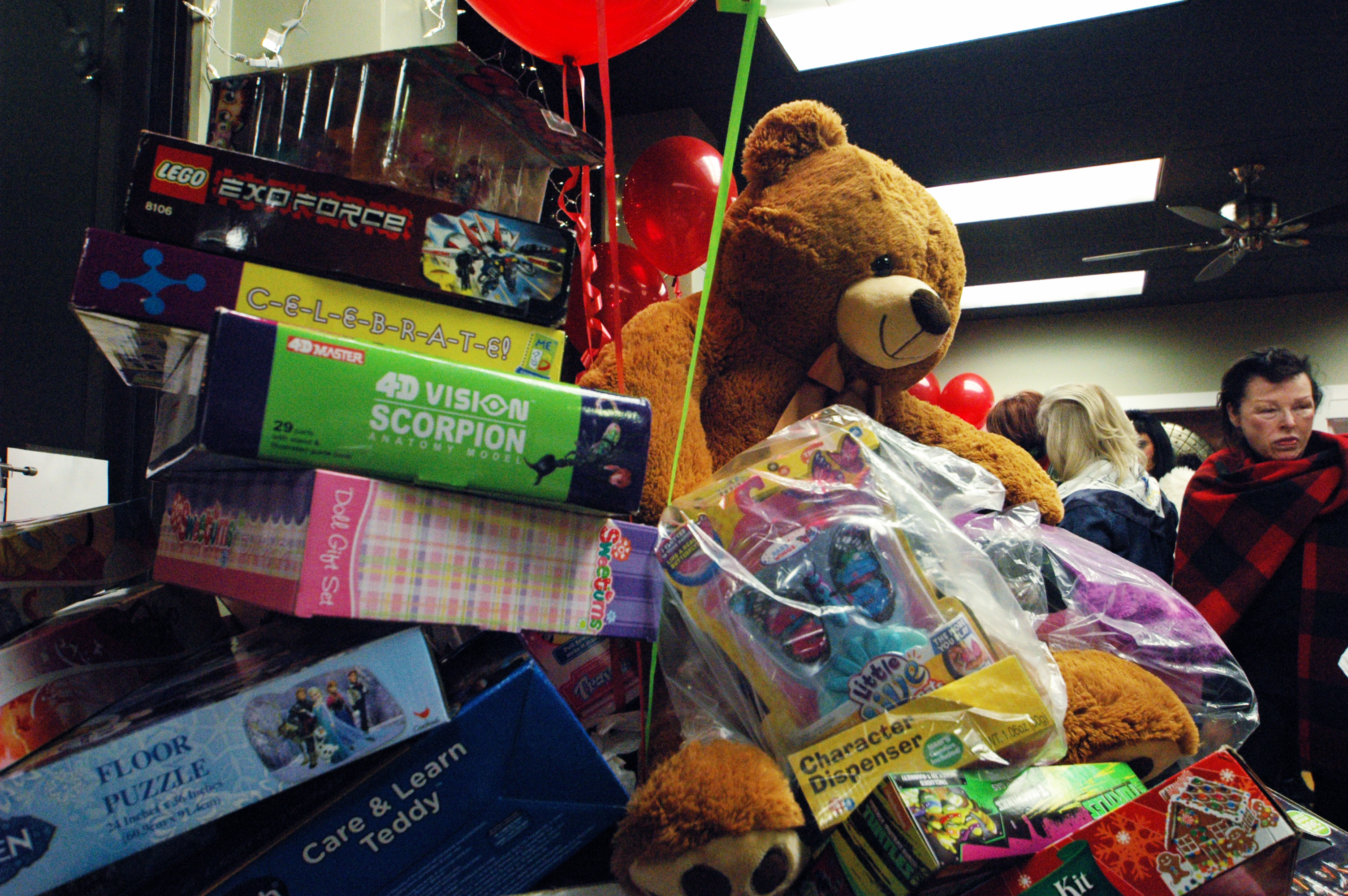 Toys For Tots Frame : Successful toys for tots drive and party photos
