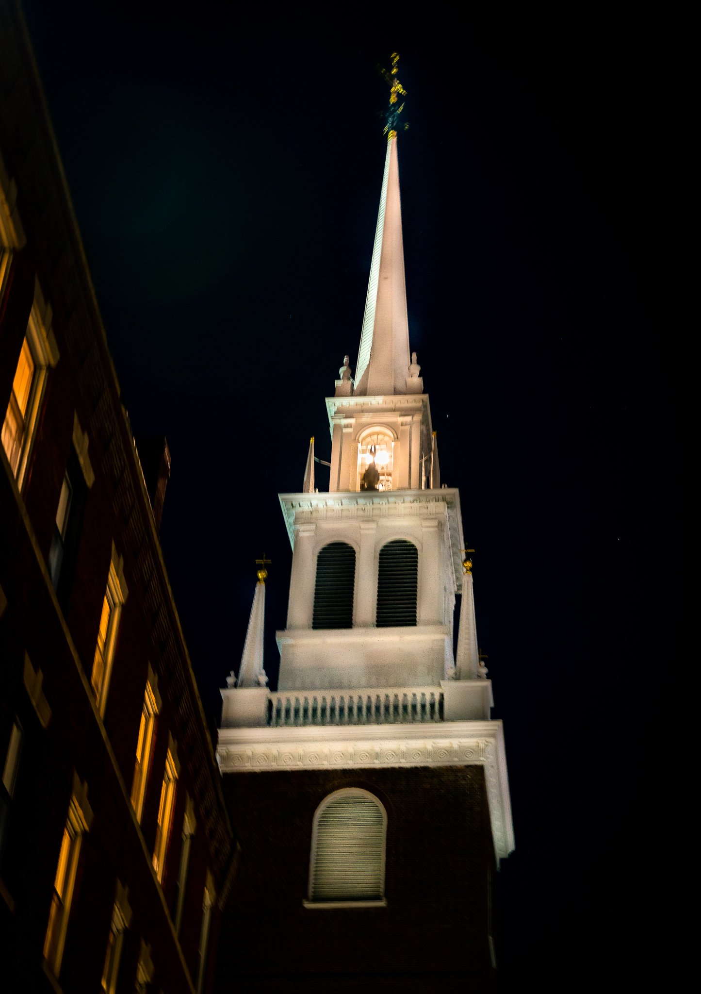 Lighting of the Lanterns at the Old North Church
