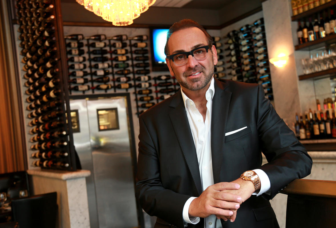 Nick Varano's newly renovated Strega restaurant on Hanover Street. View the full article at, The Boston Herald.