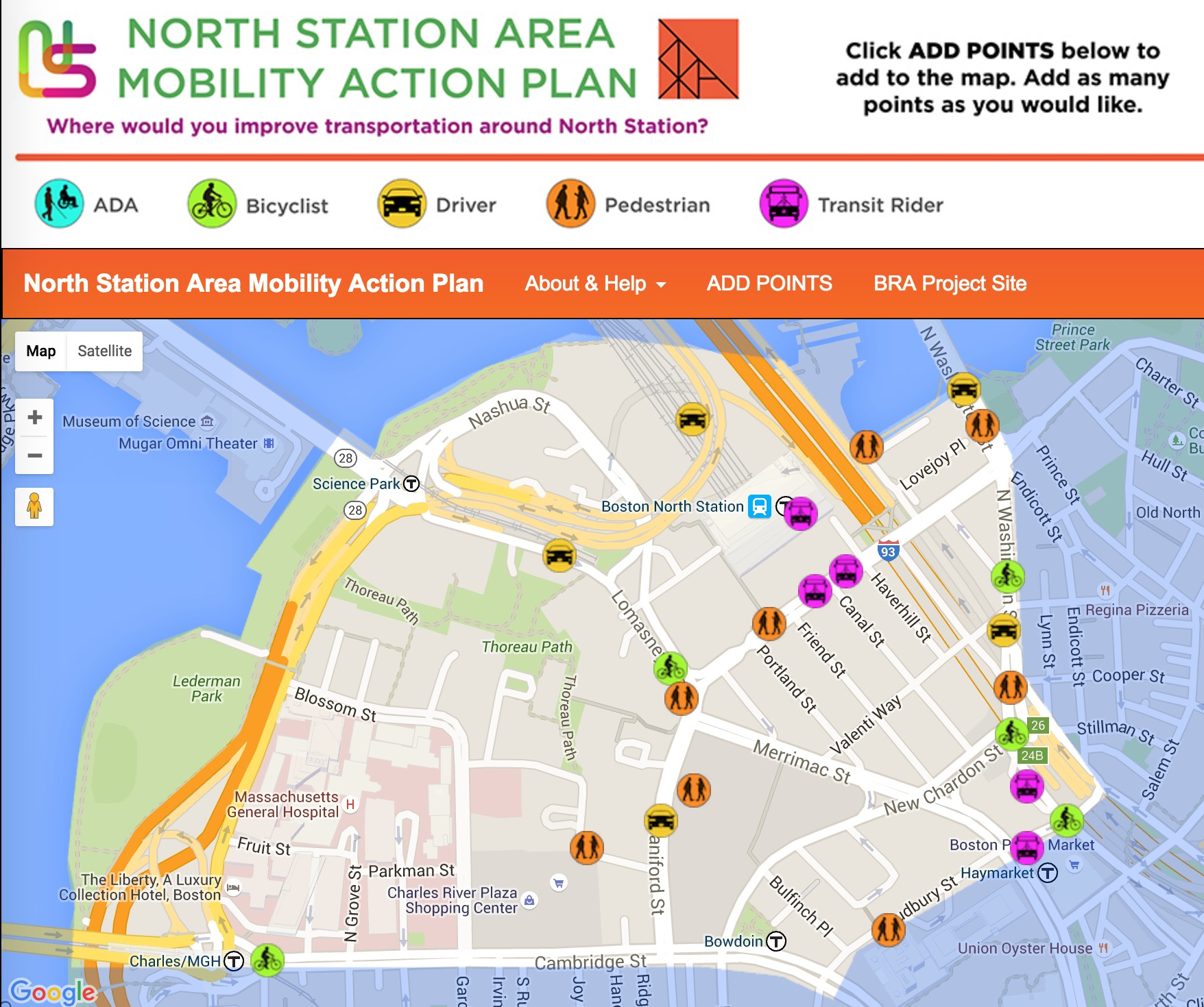 North Station Mobility Action Plan (BRA Image)