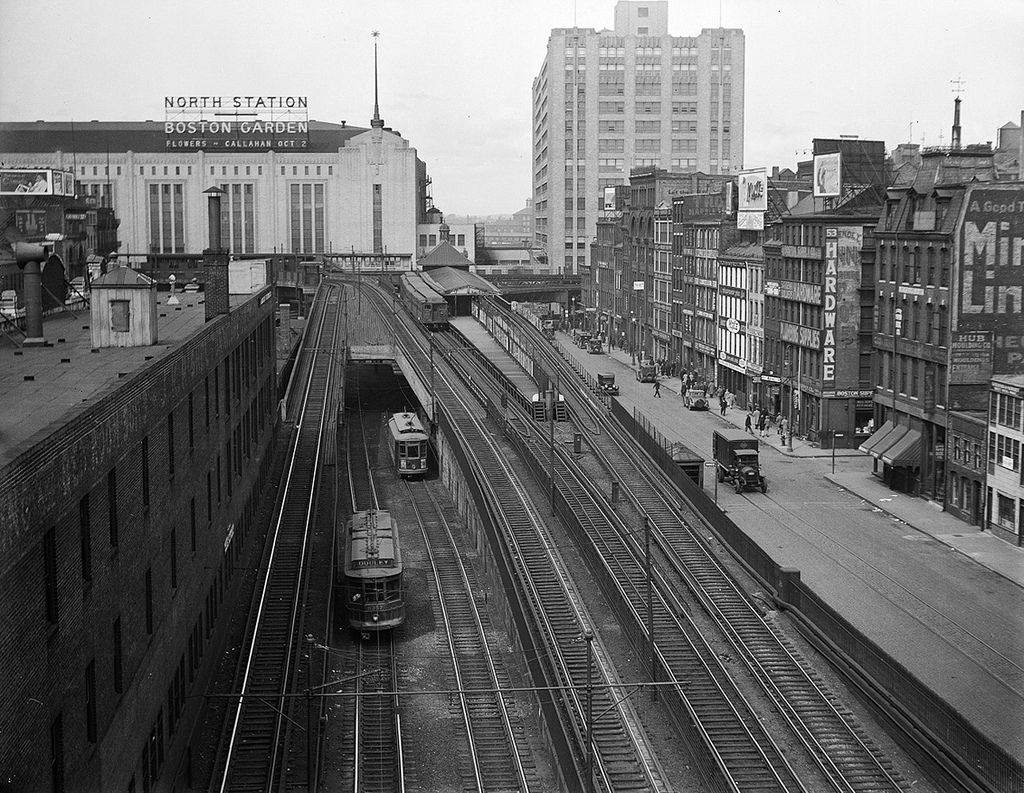 West End El in 1925 (Courtesy West End Museum)