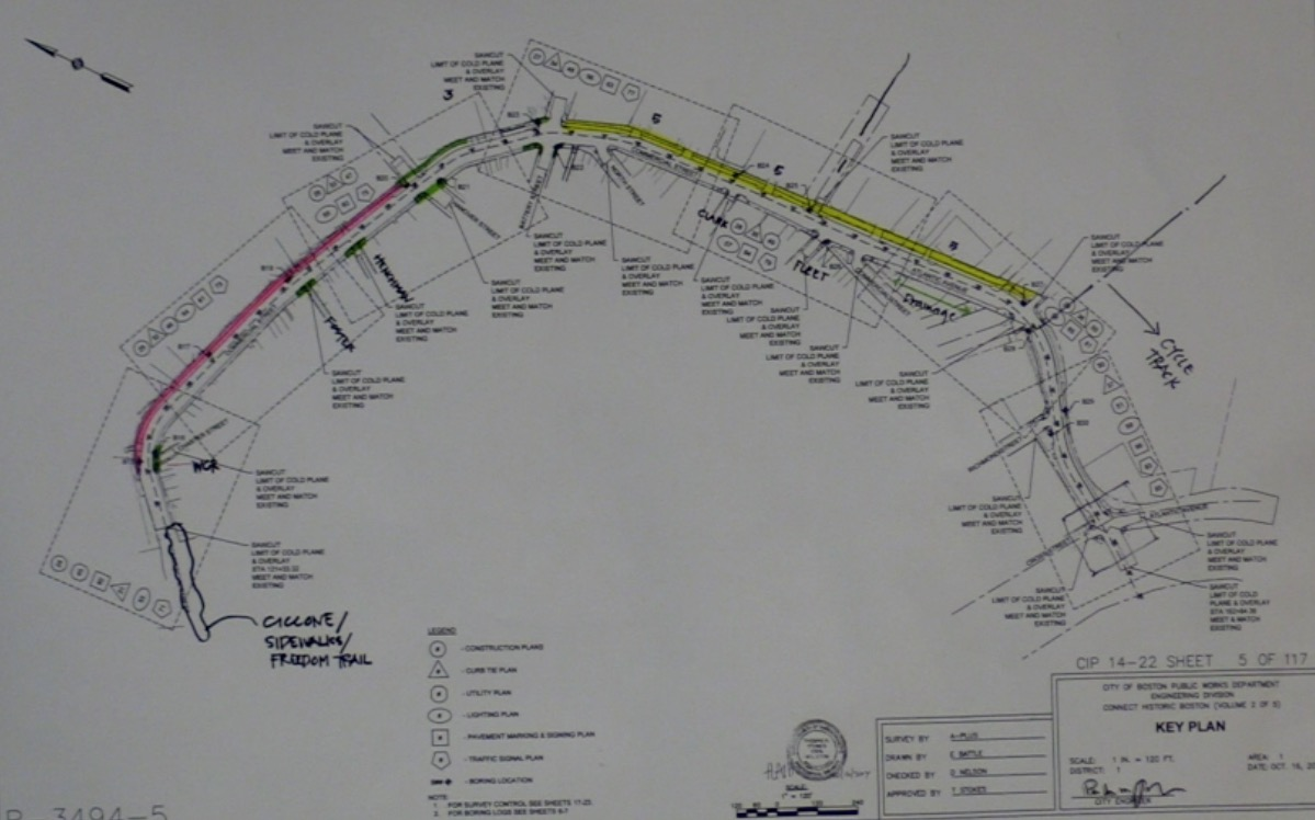 Cycletrack progress august 2016