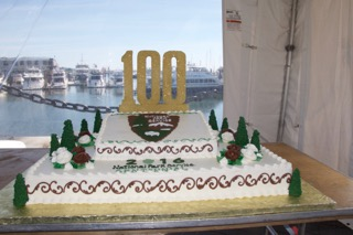 100th Birthday Cake for National Park Service