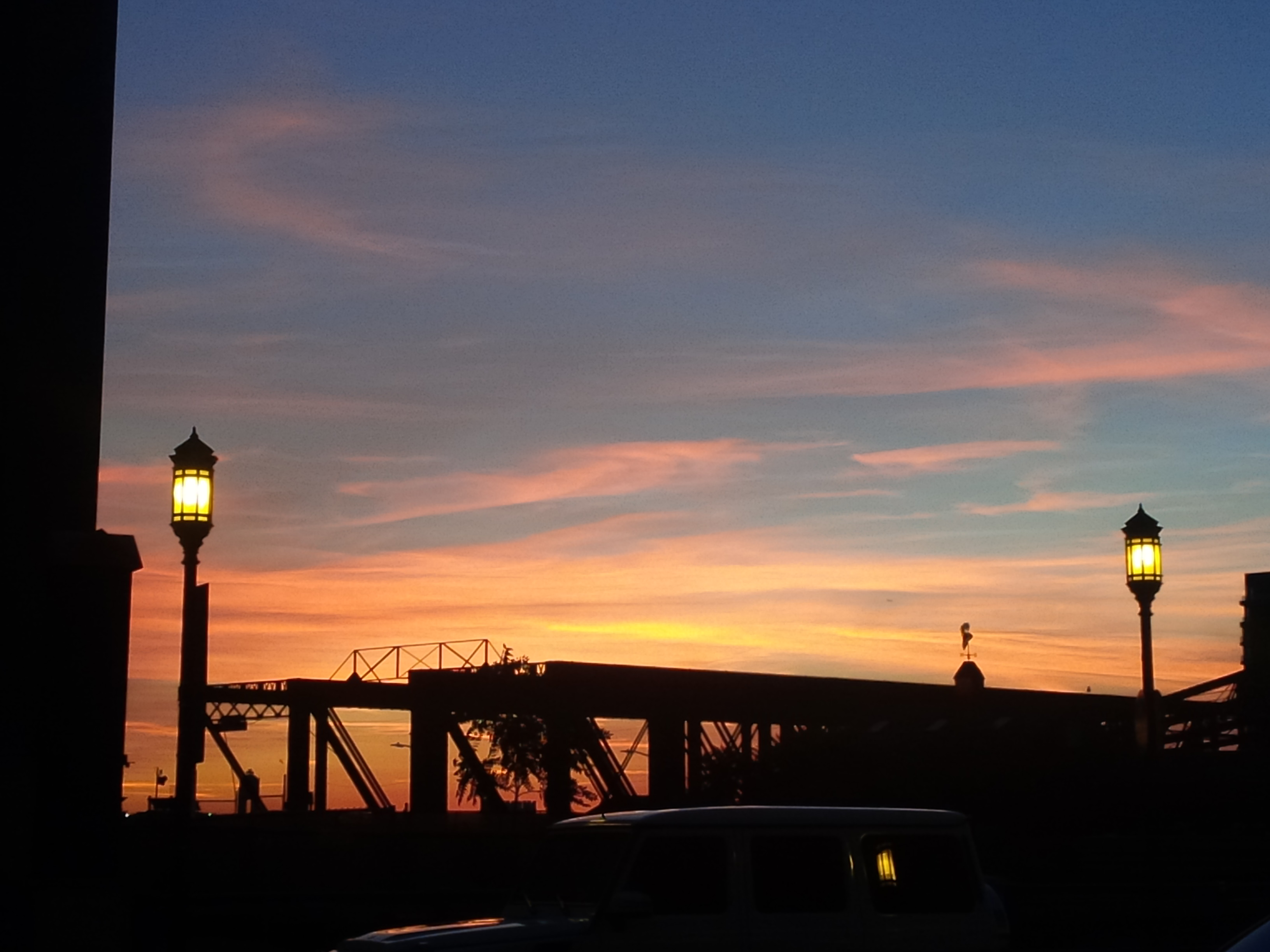 "David ""Another Great Sunrise Over Northern Ave Bridge"""