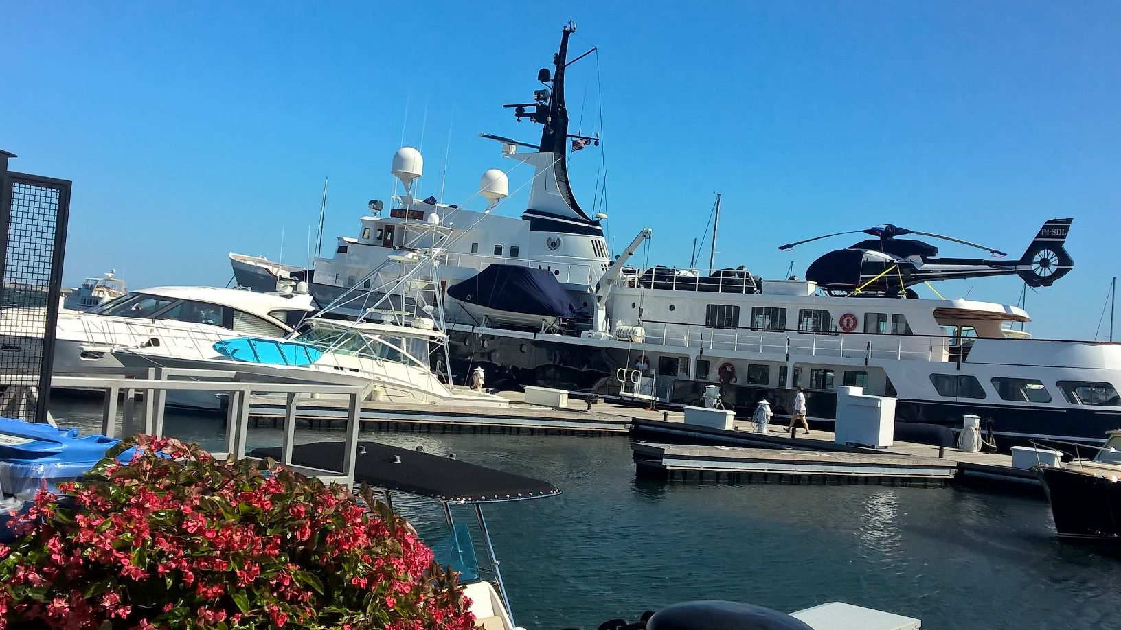 Looking for a boat? Check out the Itasca, docked at Yacht Haven (Photo by Monika Skole).