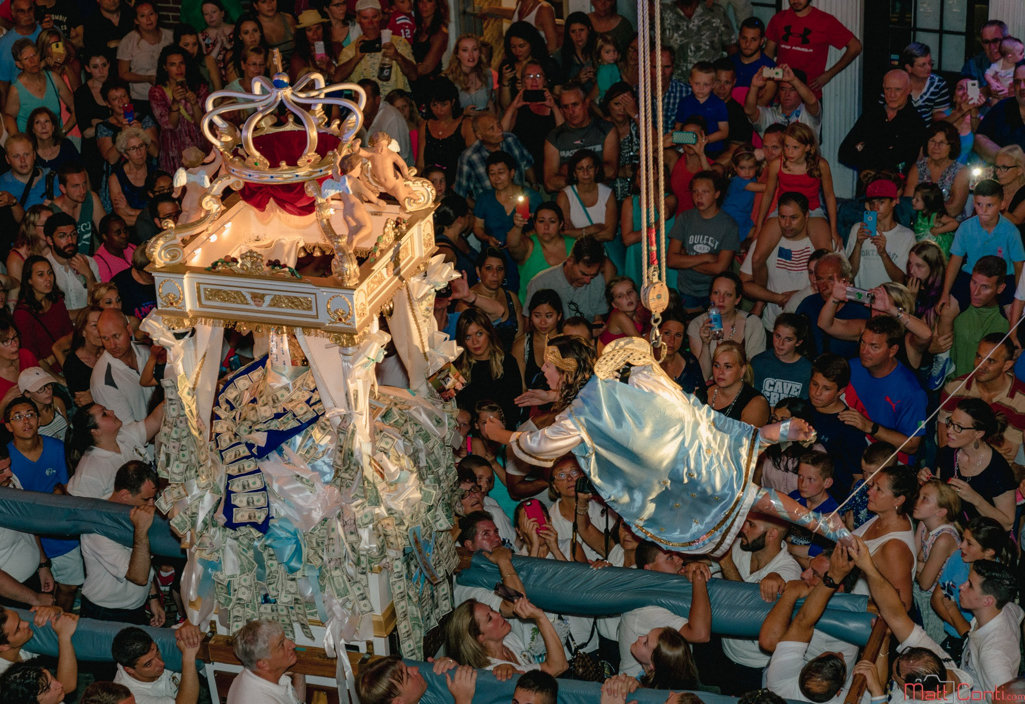 Video: Flight of the Angel at 2016 Fisherman's Feast