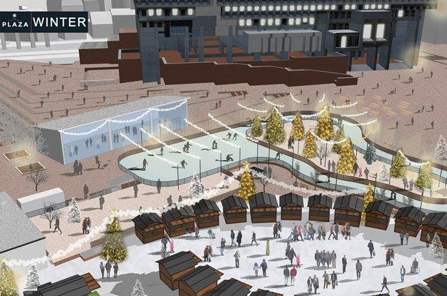 Skating Rink/Path and Holiday Market Coming to City Hall Plaza ...