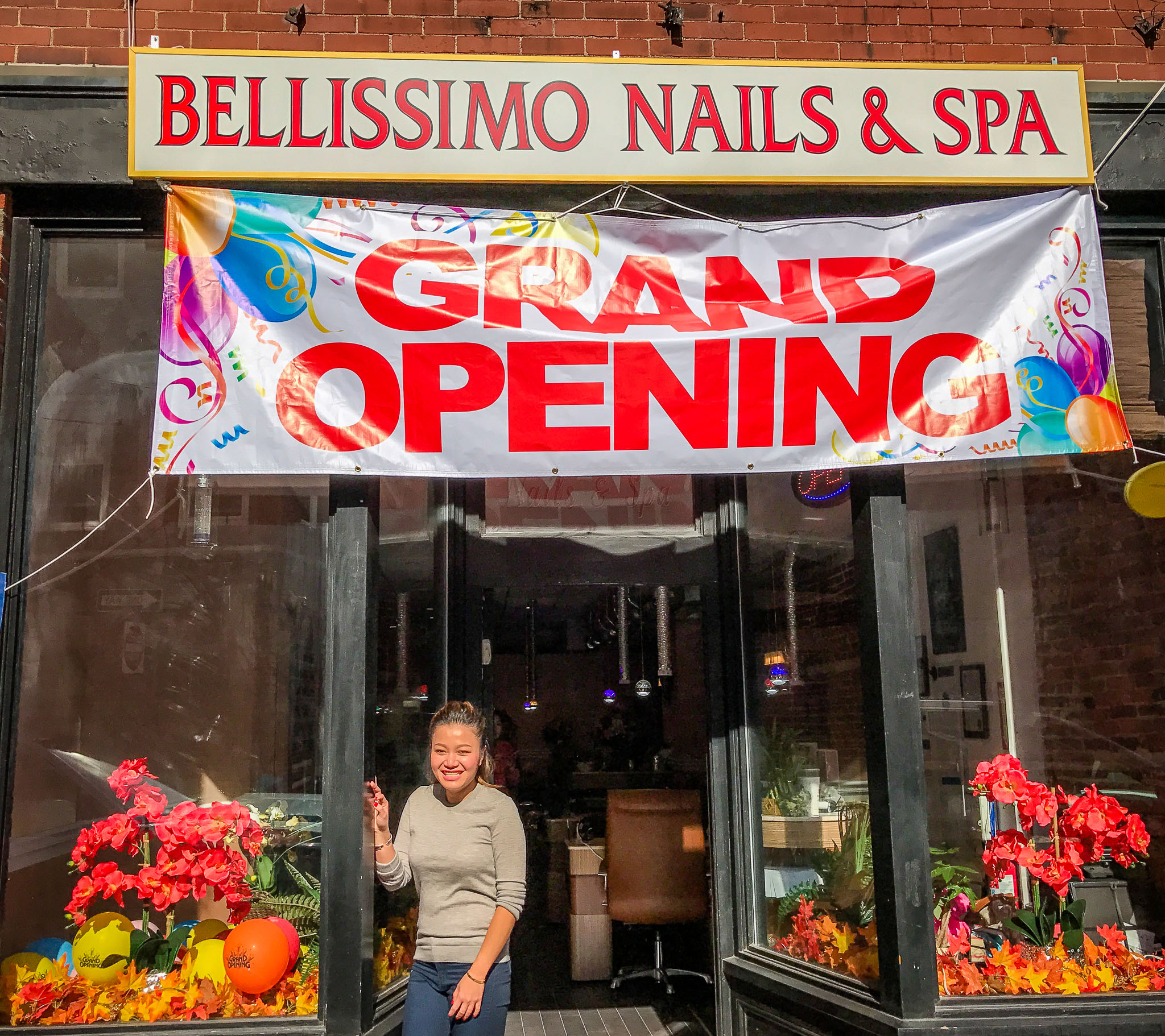 Amy of Bellissimo Nails & Spa at 12 Fleet Street