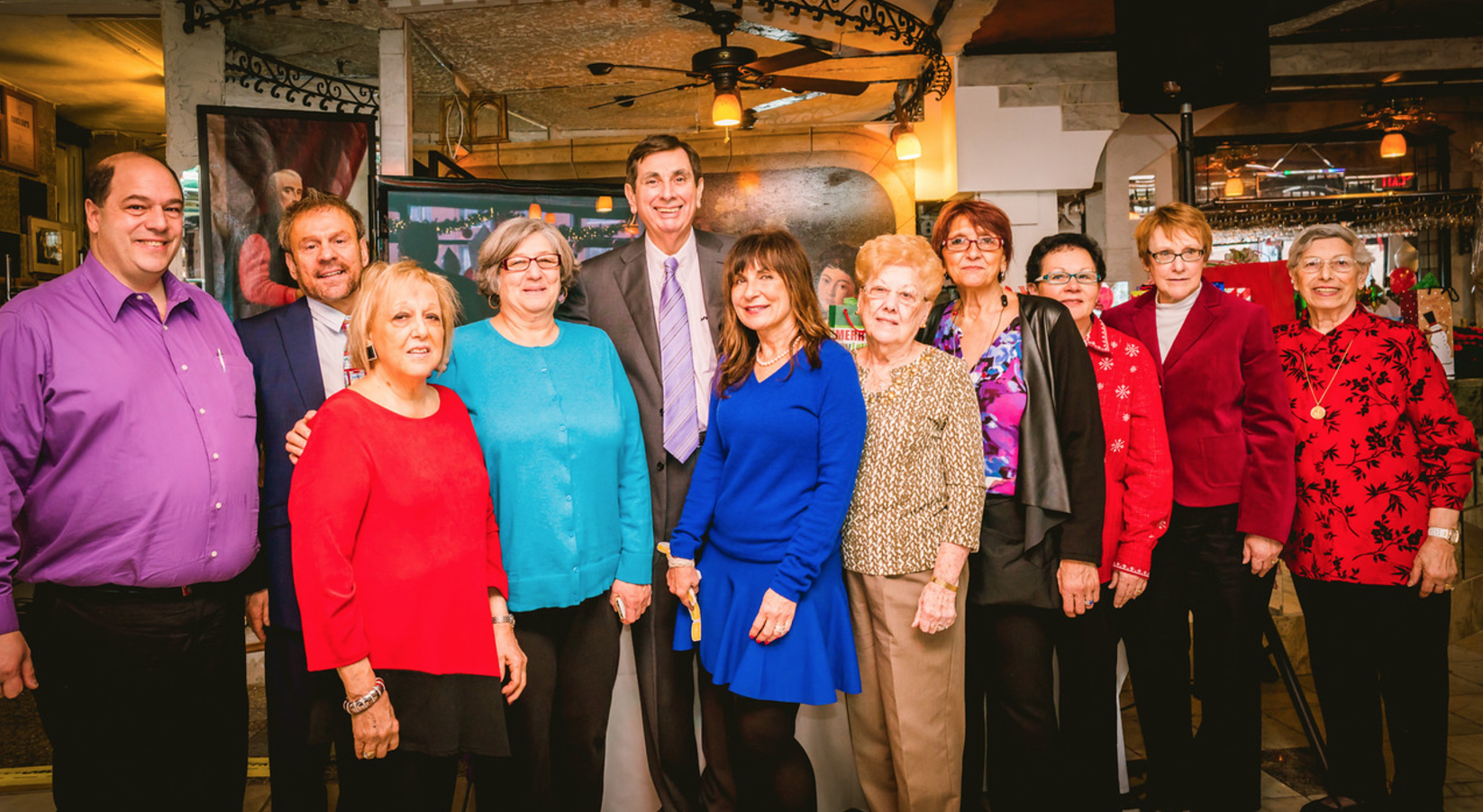 Organizing committee of the North End Christmas Fund Luncheon - 2015.  (NEWF Photo)