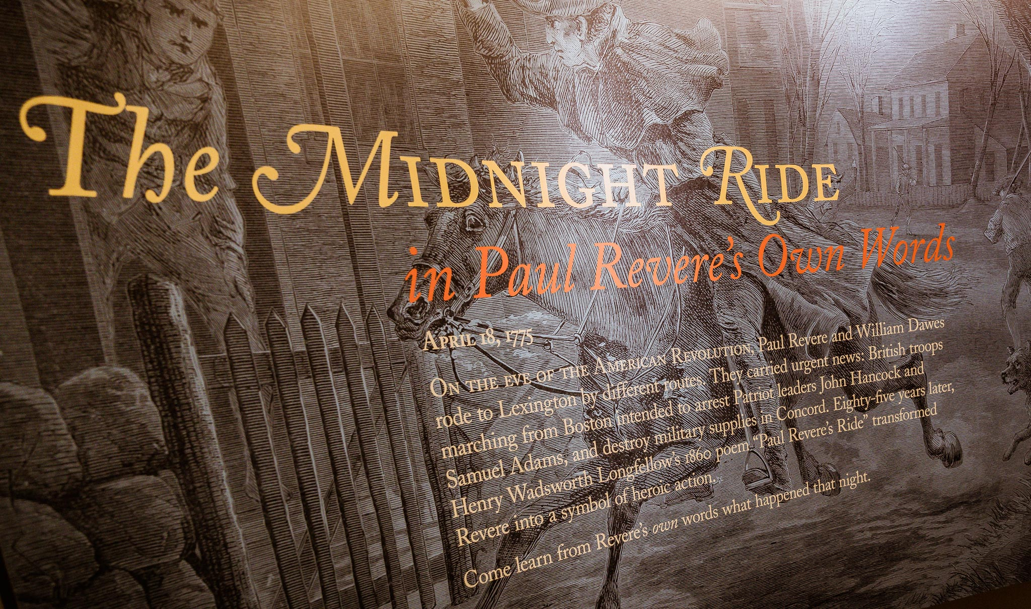 The Midnight Ride Exhibit