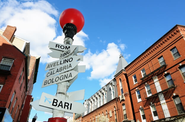 Italy Magazine features Boston's North End
