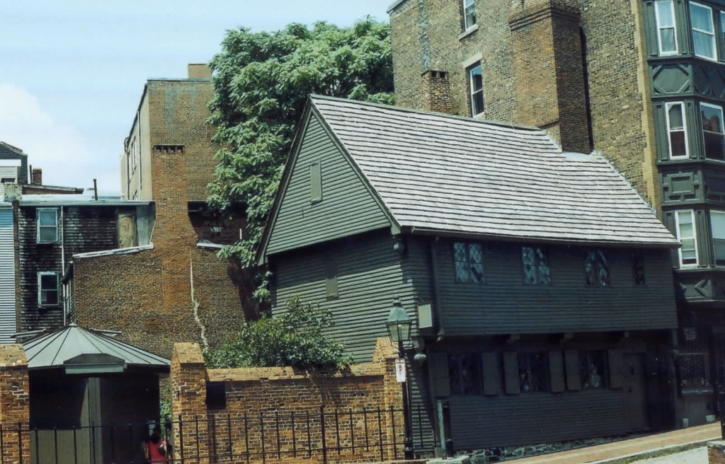 Paul Revere House - North Square