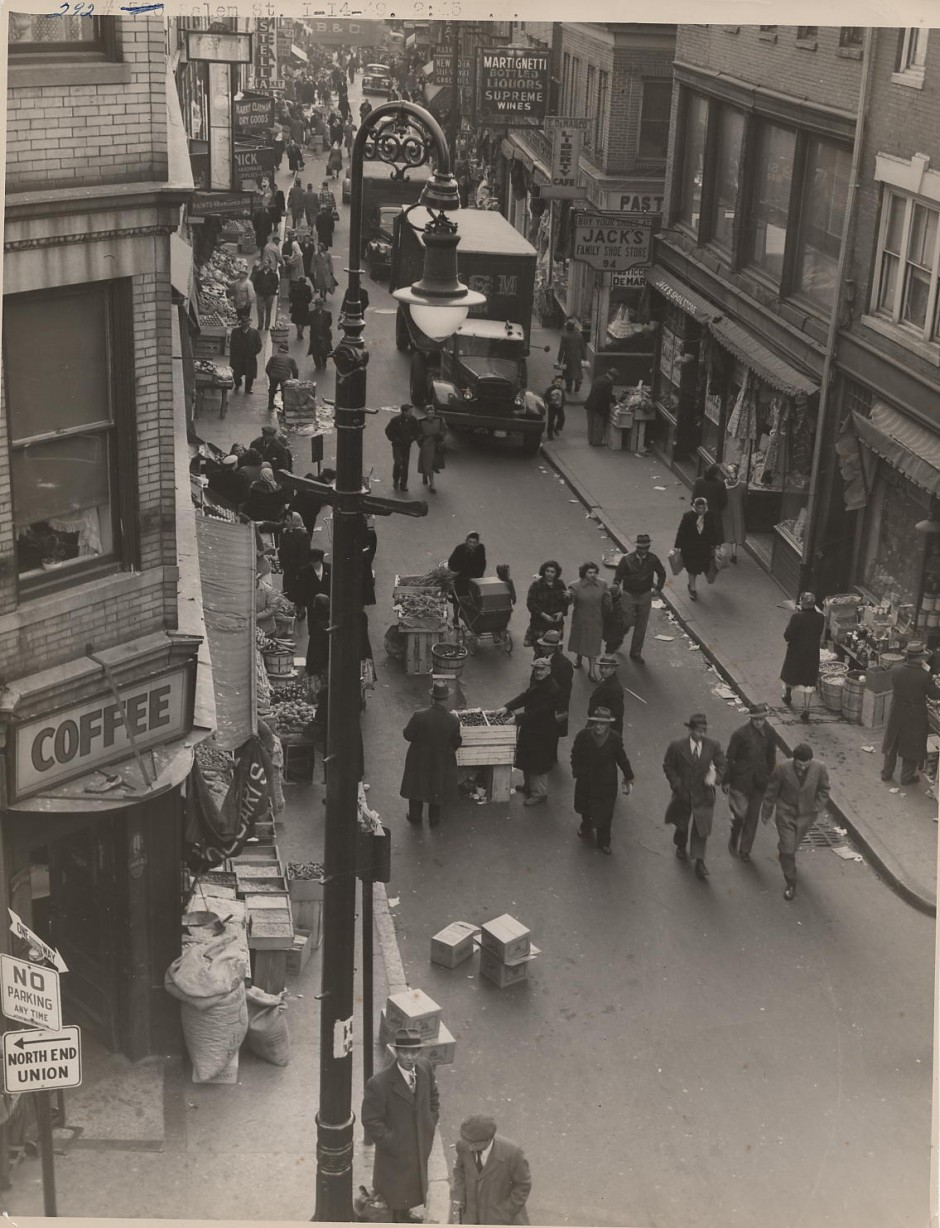Photo Remembrance Of Salem Street In 1949