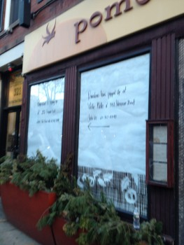 """Pomodoro Restaurant """"Pops Up"""" at Volle Nolle Before Move to 204 Hanover Street"""