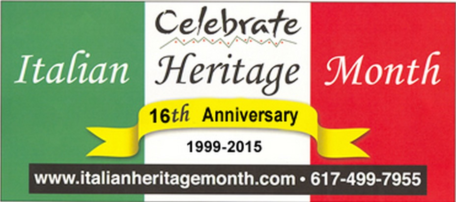 Italian Heritage Month Event Listing for October 2015