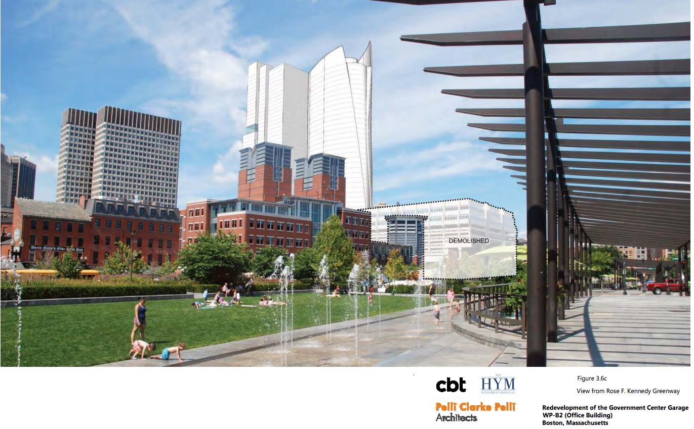 Residential And Office Tower Designs Presented For Government Center
