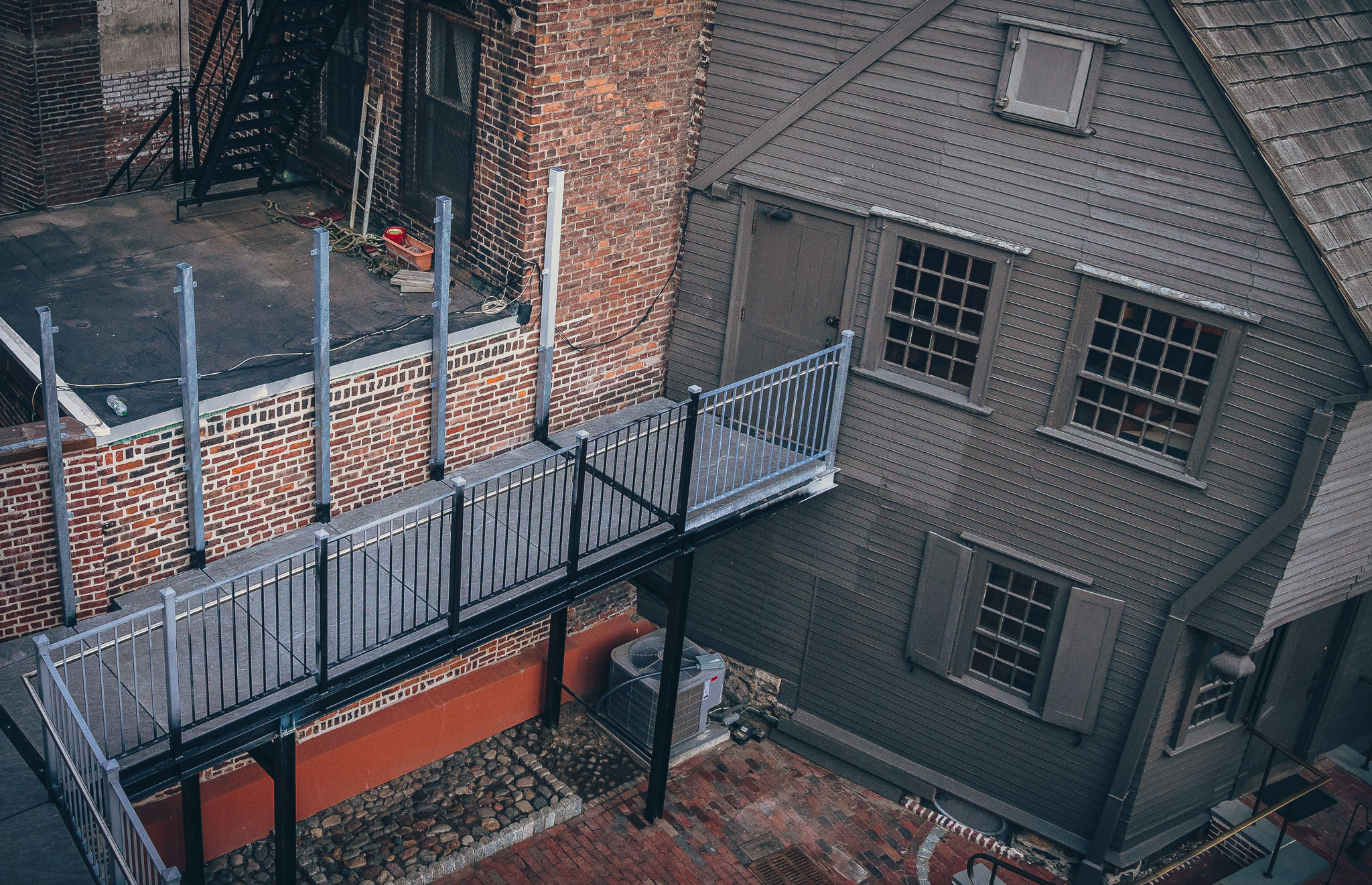 Marvelous New Handicap Accessible Ramp Connects The Paul Revere House With The New  Visitor Center