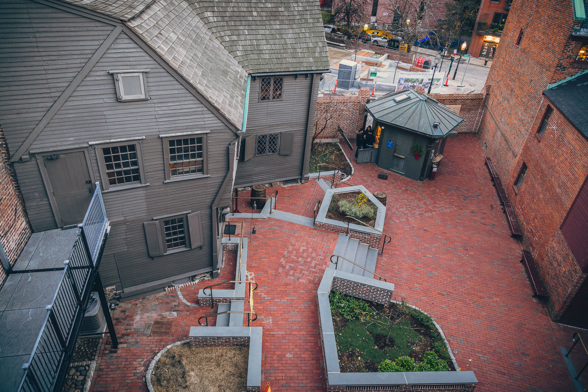 Exceptional Courtyard At The Paul Revere House
