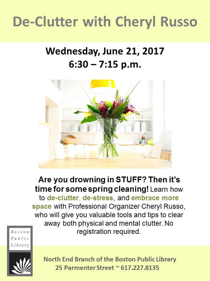 2017 Spring Cleaning Flyer