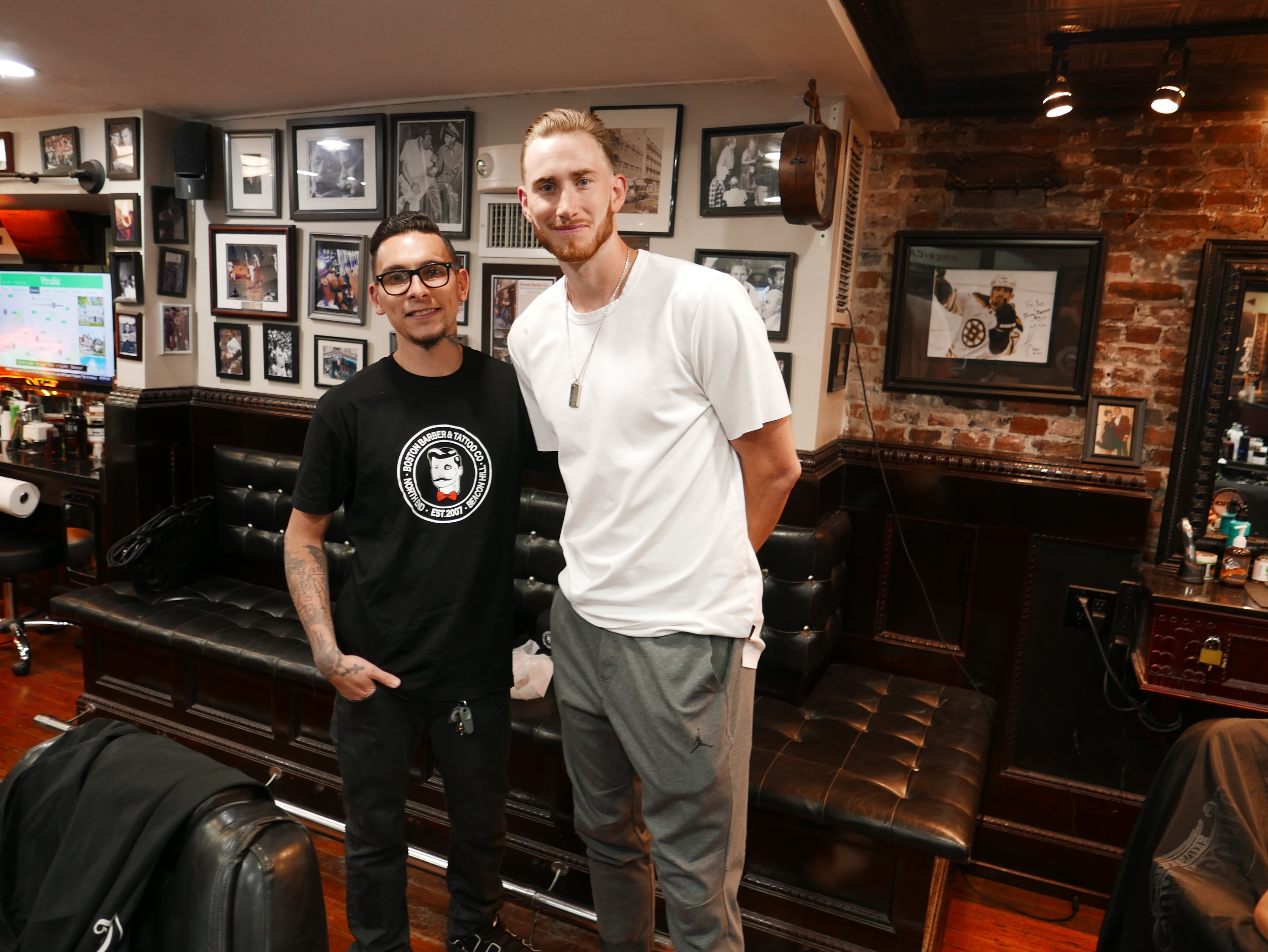 New Celtics Player Gordon Hayward Visits L'Osteria and