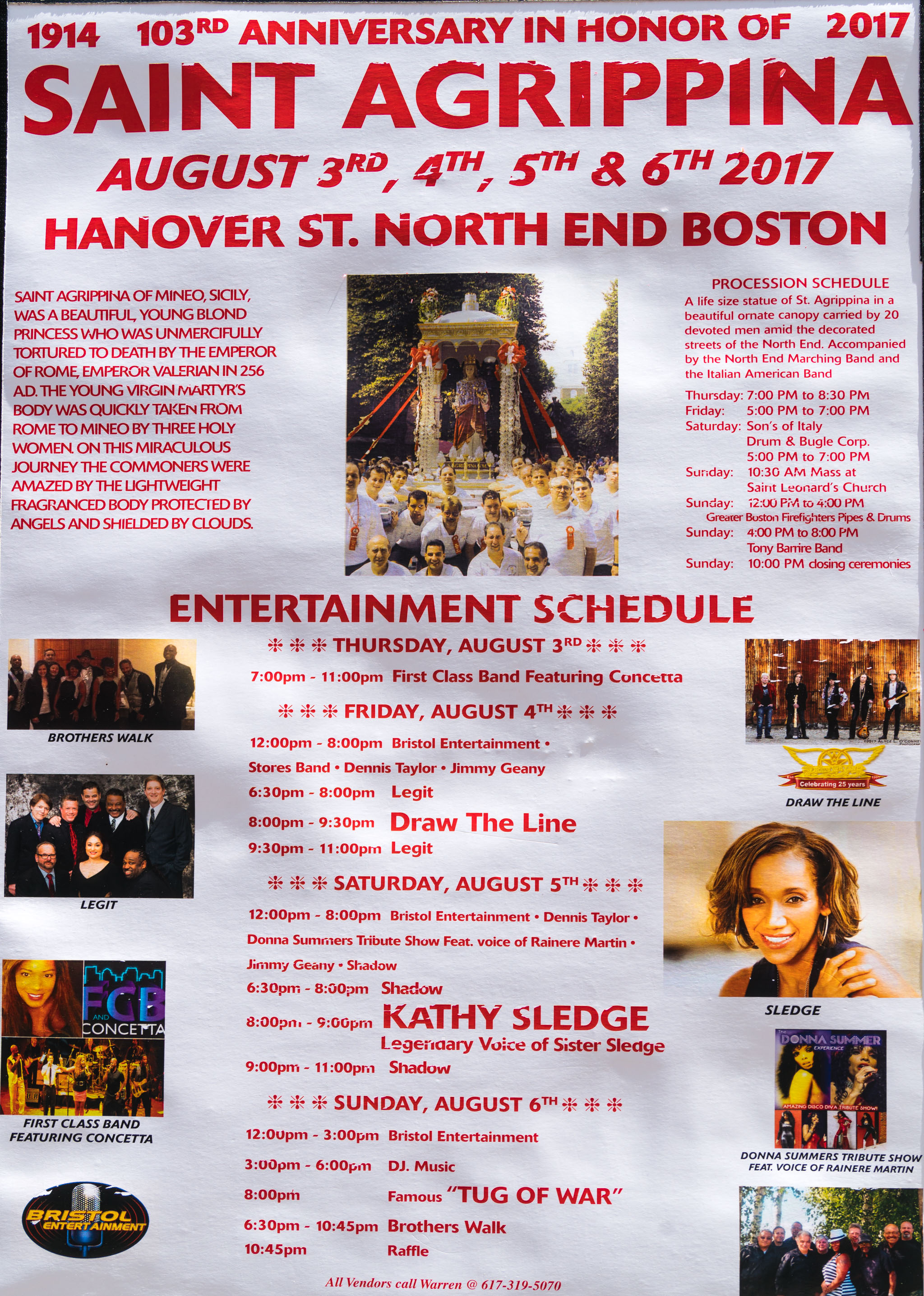 103rd saint agrippina feast on august 3 6 2017 everyblock boston. Black Bedroom Furniture Sets. Home Design Ideas