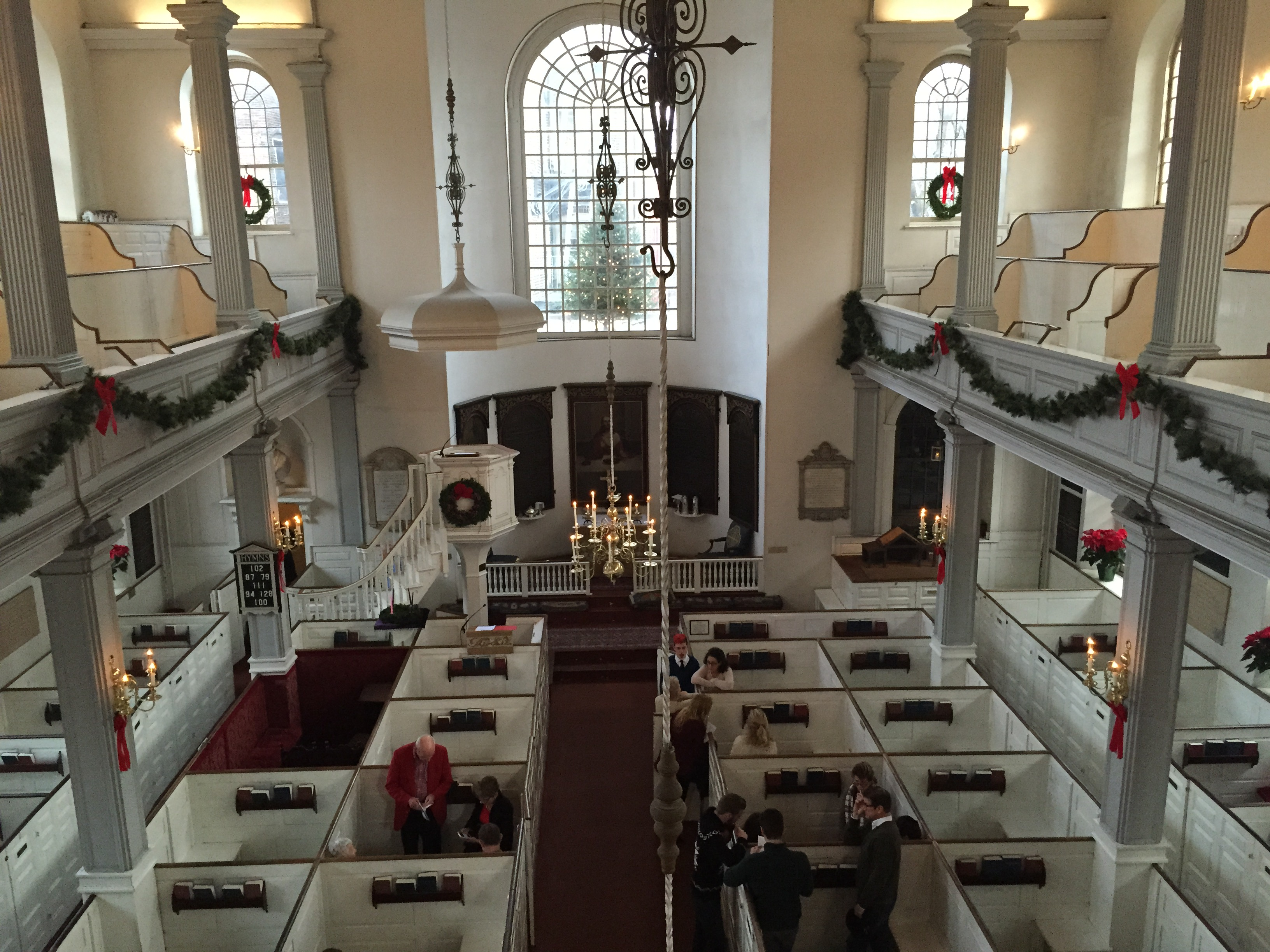 Christmas Worship at the Old North Church - NorthEndWaterfront.com