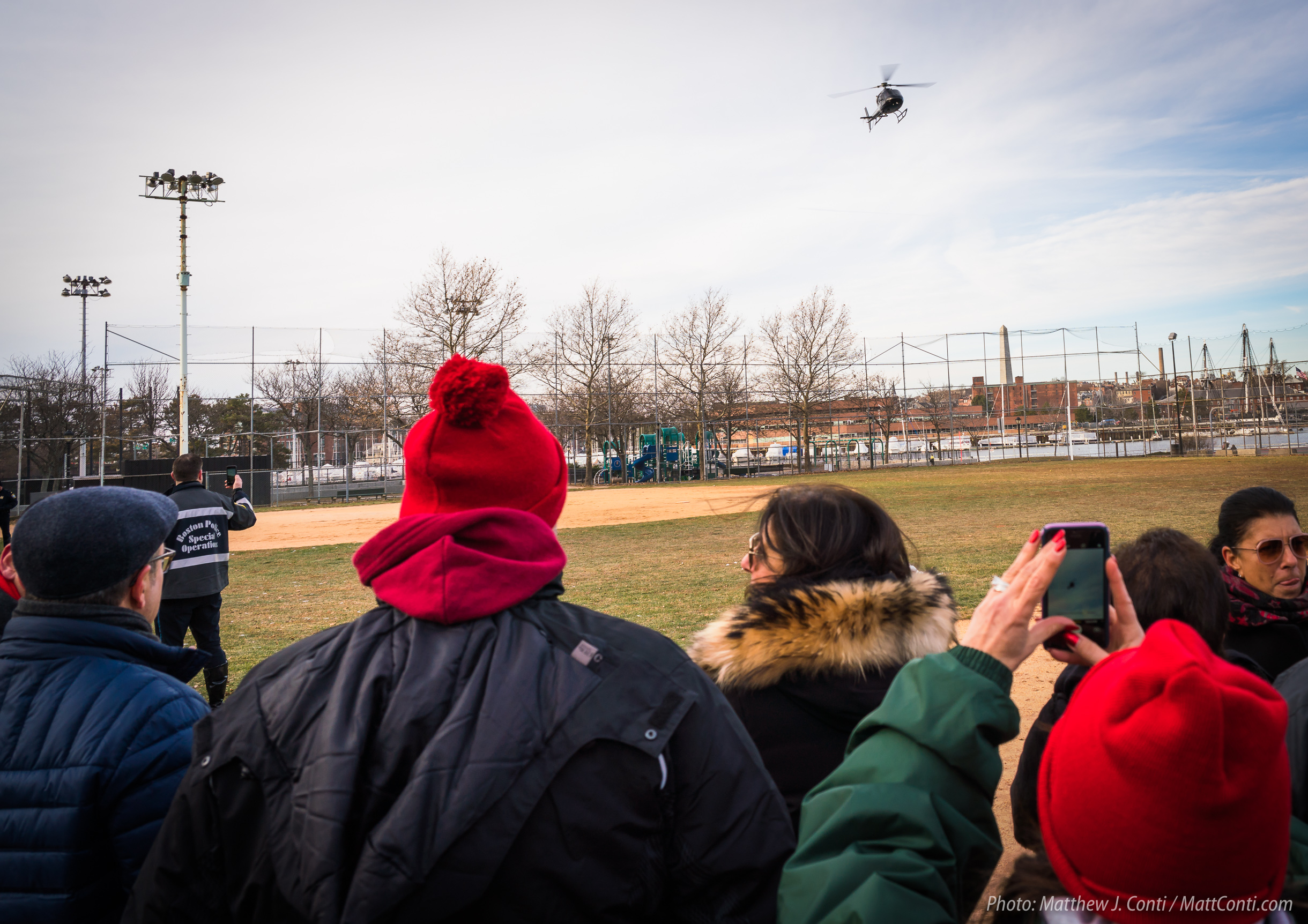 Tradition of Santa Claus Arriving by Helicopter Continues in