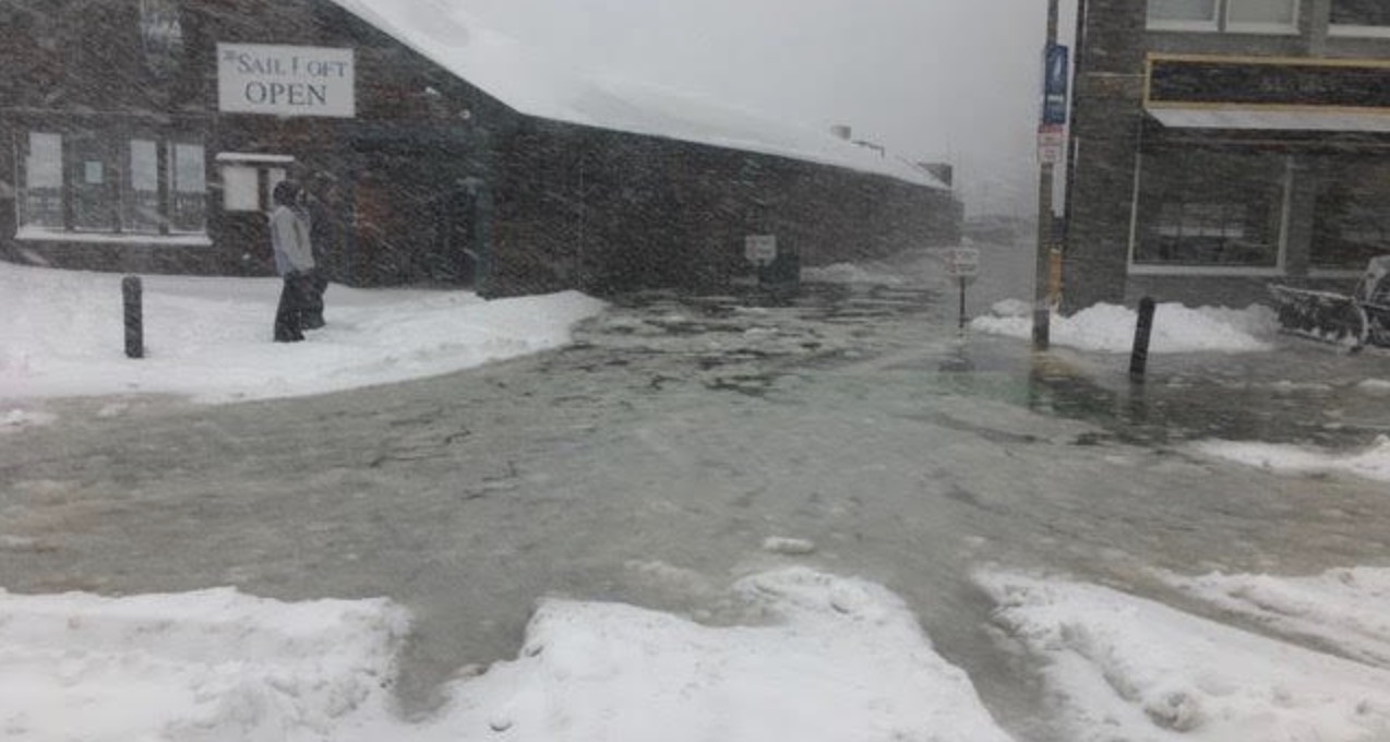 Storm Surge Brings Record Flooding to Waterfront Areas [Photos]