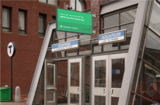 MBTA To Install Four Digital Urban Panels at the Entrance to