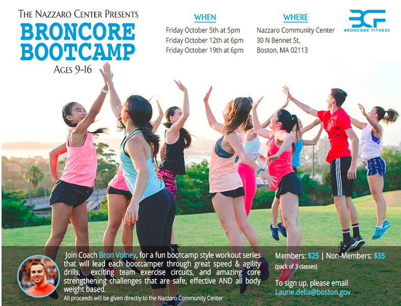 gymnastics and boot camp at the nazzaro center northendwaterfront com