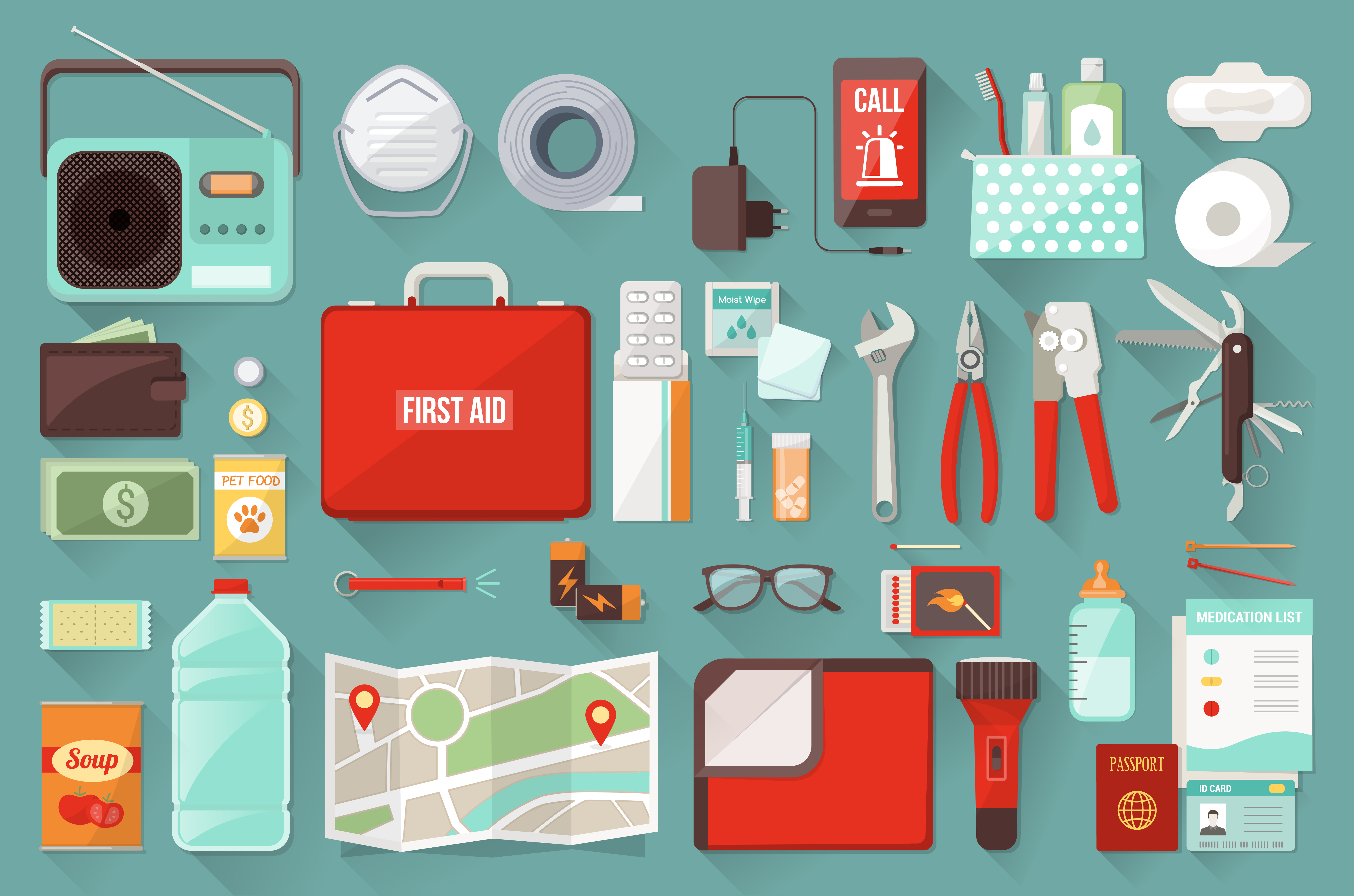 Recommendations For Preparing A Go Bag Emergency Situations Northendwaterfront