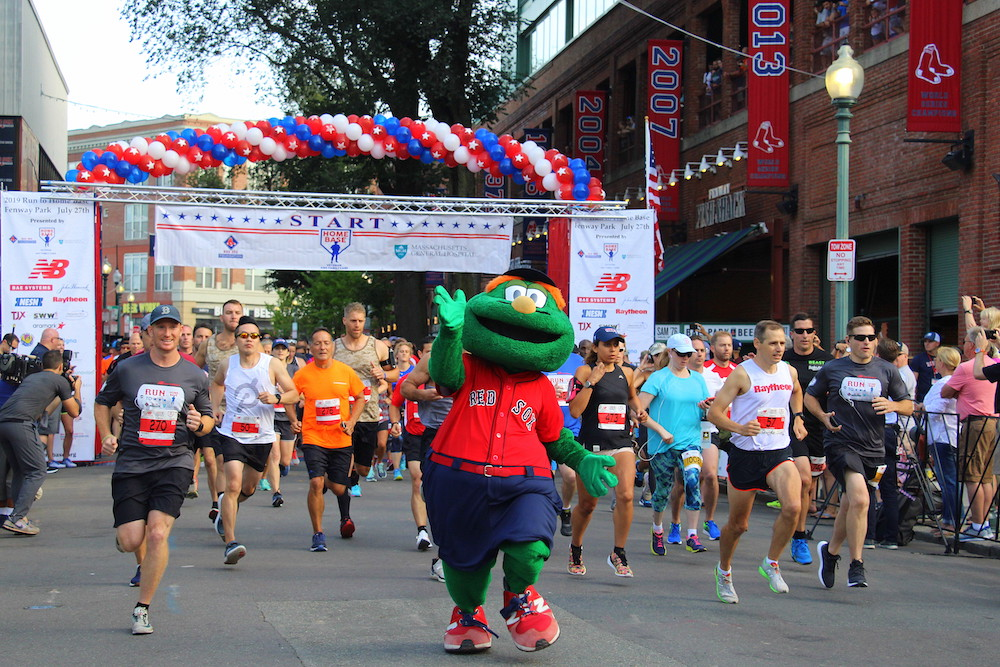 Tenth Annual Run to Home Base at Fenway Park [Photo Gallery