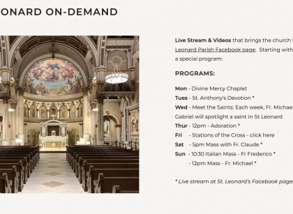St. Leonard On-Demand
