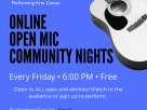 North End Music & Performing Arts Center Expands Virtual Open Mic Community Nights